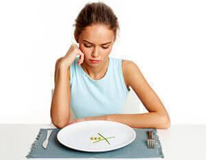 Депрессивное состояние, снижение веса, отказ от пищи - симптомы болезней ЖКТ
