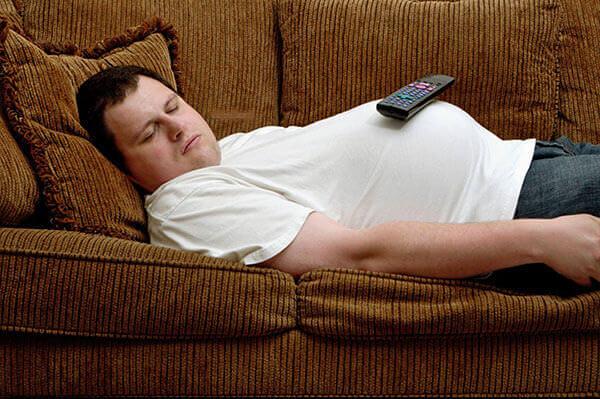 Пассивный образ жизни причина ожирения, развития геморроя и других болезней