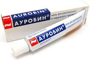 Мазь Ауробин для лечения геморроя
