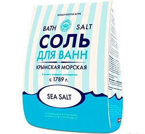 Морская соль для сидячих ванночек при парапроктите