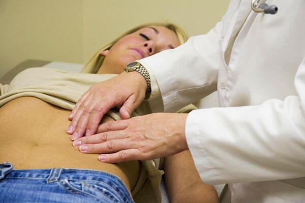 Обследование у доктора на наличие спаек в малом тазу