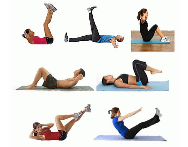 Зарядка и активный образ жизни - шаг к устранению шишки в заднем проходе