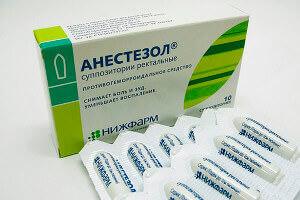 Свечи Анестезол помогут облегчить боль при геморрое