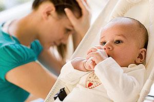 Тяжелые роды - одна из причин анальной трещины