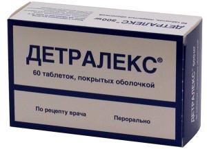 Таблетки Детралекс назначают только при острой необходимости