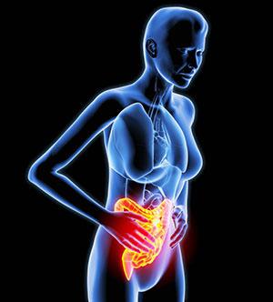 Симптомы геморроя - боль в животе, жжение и зуд в заднем проходе
