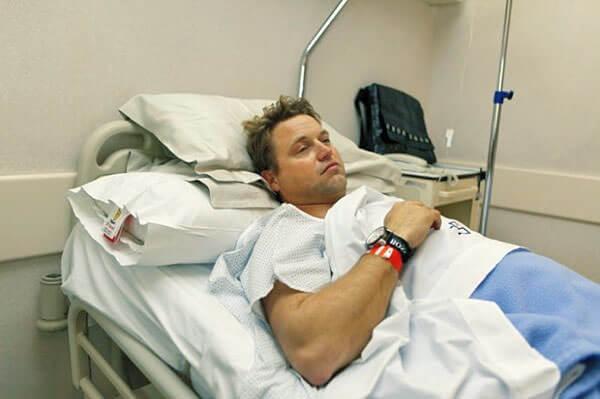 После проведения операции больному прописывают постельный режим