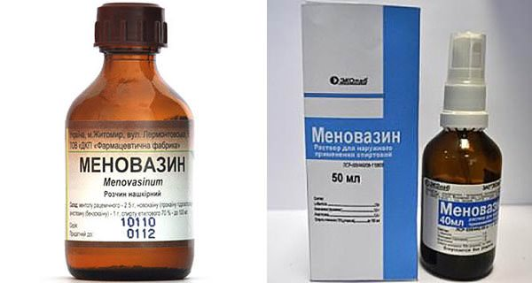 Препарат поливалентного действия - Меновазин