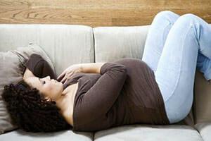 У беременных чаще всего проявляются запоры