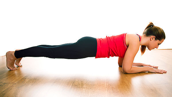 Упражнение для укрепления мышц таза