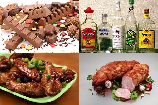 Эти продукты нельзя употреблять при онкологических болезнях