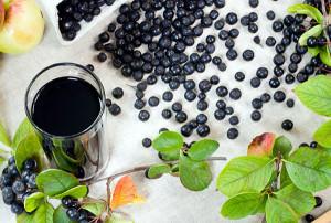 В борьбе с геморроем поможет сок черноплодной рябины