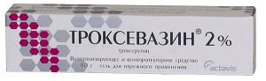 Аналог троксерутина крем Троксевазин