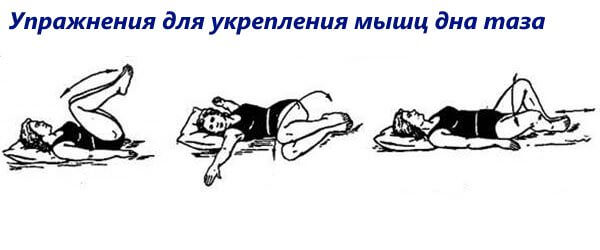 Упражнения для укрепление мышц дна таза