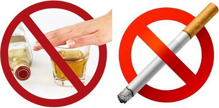Отказ от сигарет и спиртного значительно сократит риск развития болезней ЖКТ