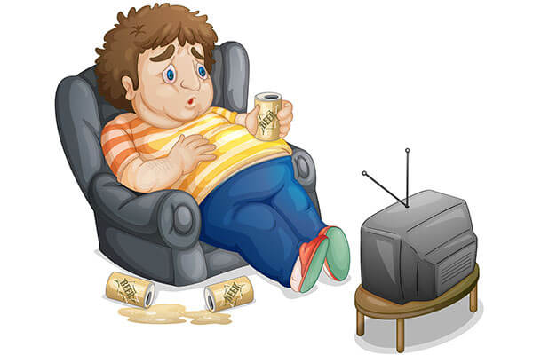 Малоподвижный образ жизни, увлечение спиртными напитками приводит к развитию геморроя