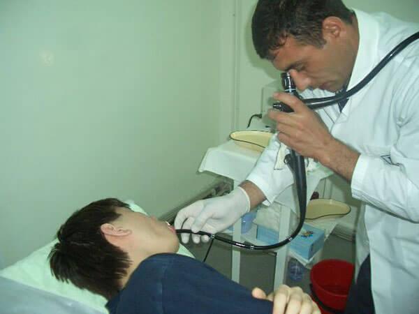 Проведение эзофагогастродуоденоскопия