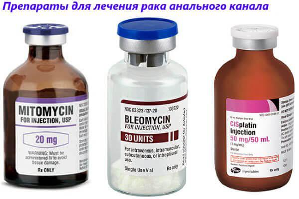 Препараты для лечения рака анального канала