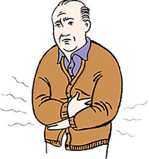 Систематическое вздутие живота, метеоризм после приема пищи - симптомы развития опухоли в прямой кишке