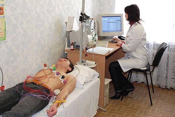 Перед операцией проводят ЭКГ