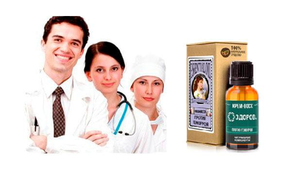 Доктора рекомендуют крем Здоров
